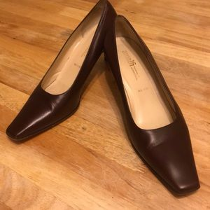 Amalfi Brown Heels